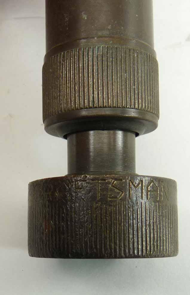 Vintage Craftsman Brass Garden Hose Nozzle